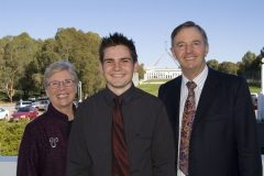 Hawker Scholarship Presentation in Canberra
