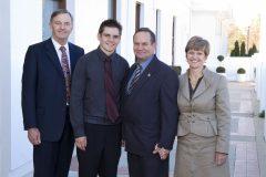 Hawker Scholarship Presentation in Canberra