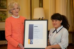 CAS HAwker Scholarship presentation, Government House, Canberra, 6th May, 2011