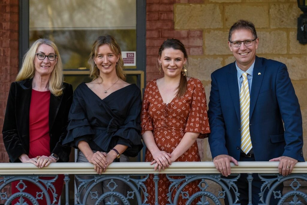 Hawker Scholarships presented by Australian of the Year