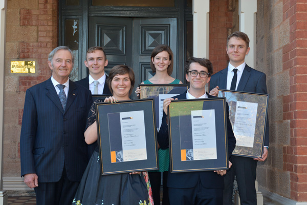 2015 C.A.S Hawker Scholarships Announced